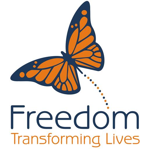 Freedom Centre logo for Stripe